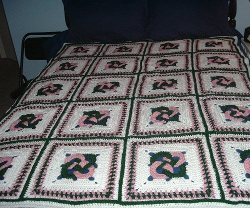 "Crochet Pattern Central - Free 12"" Afghan Squares Crochet Pattern"